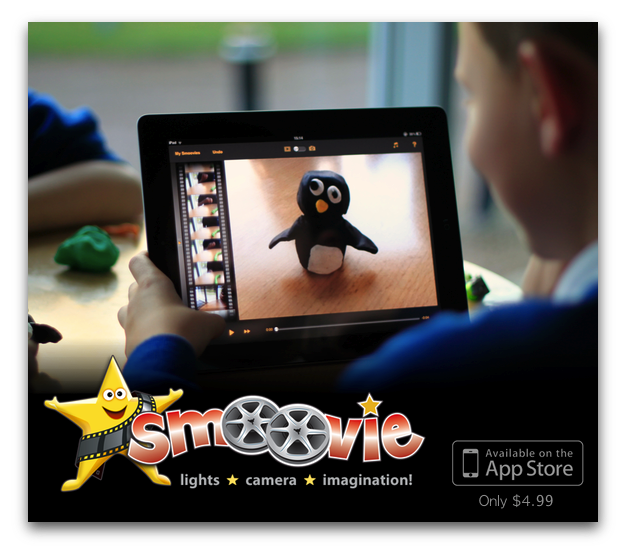 Smoovie Stop Motion Animation App for iPad Stop motion