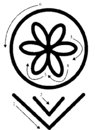 S 237 Mbolo Shamballa Reiki Anestesia Escola Flor Da Vida