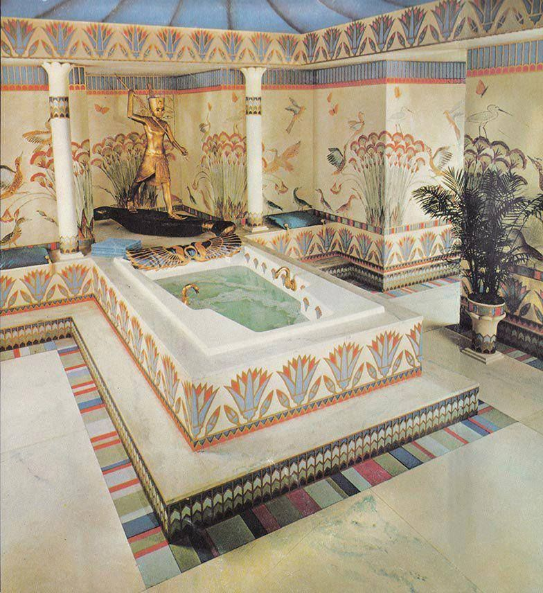 kemetic stuff (ancient egyptian stuff) beautiful bathtub | kemet in