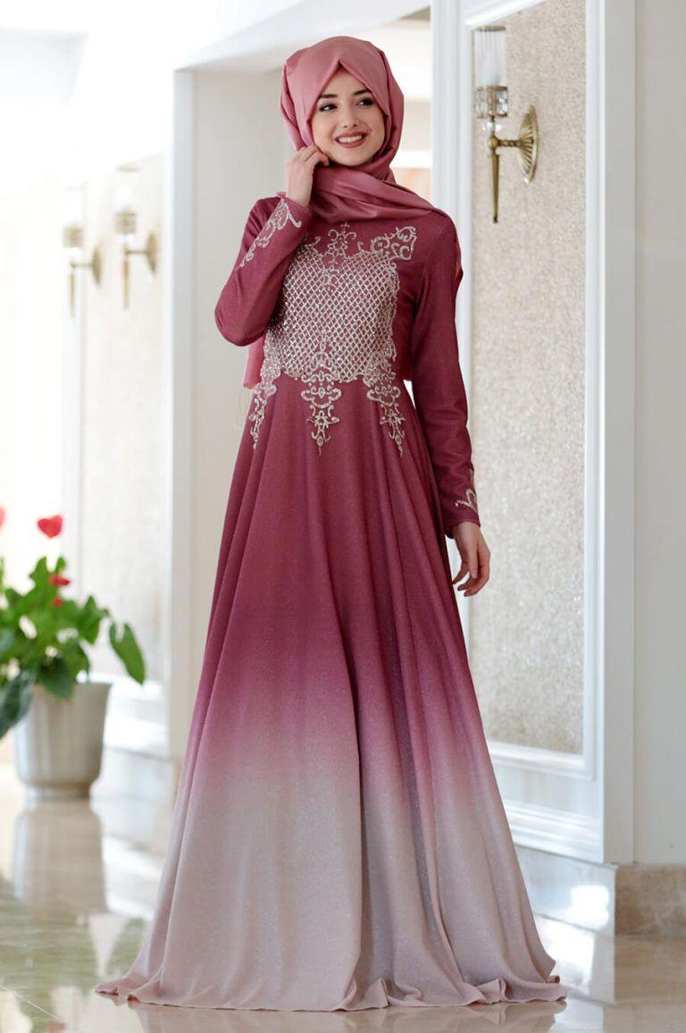 9a605a23df6fb 2018 Gamze Özkul Abiye Elbise Modelleri | Tesettür Elbiseleri -Tesettür  Giyim Moda Trend Portalınız