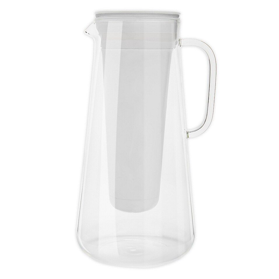 Lifestraw 7 Cup Glass Home Water Filter Pitcher In White In 2020