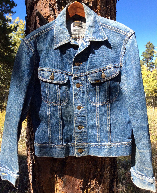 Vintage Jacket 60s Lee Denim Jacket Blue Jean Jacket Lee Denim Jacket Lee Denim Jackets [ 3000 x 2444 Pixel ]