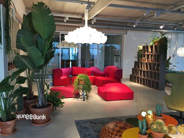 Moroso showroom Amsterdam, 5 verschillende interieur opstellingen en ...