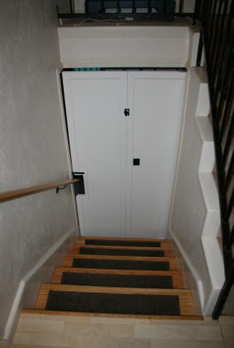 Laurel S Adventures In Home Repair Stair Door Projects