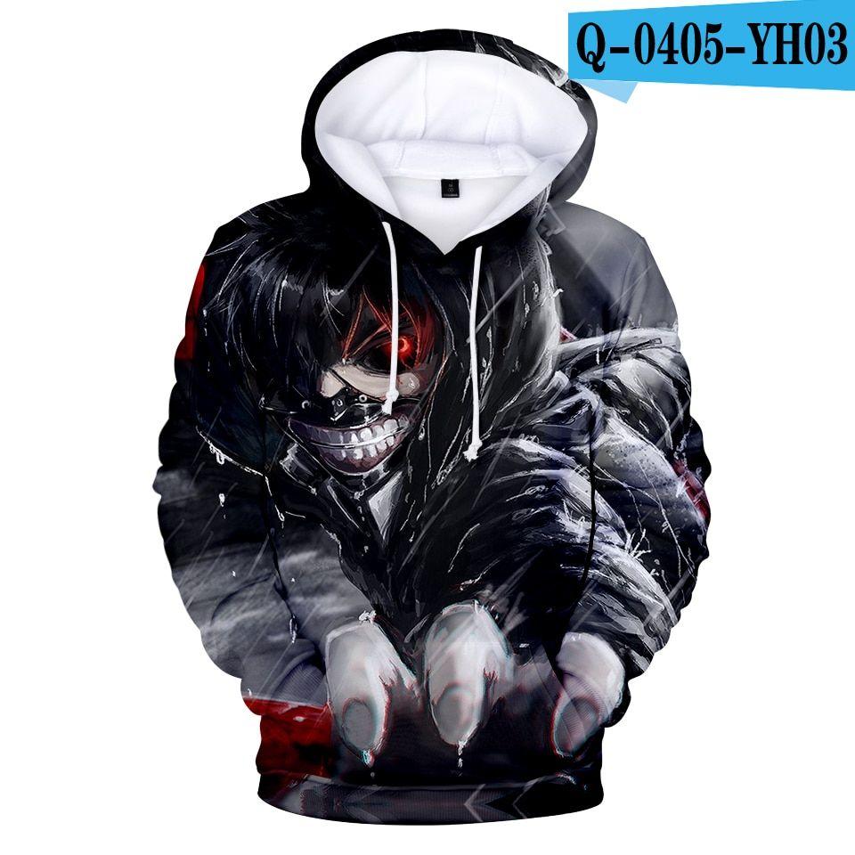 Classic Anime Tokyo Ghoul 3D Print hoodies sweatshirts