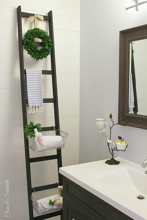 Diy blanket ladders extra storage and diy storage diy blanket ladders solutioingenieria Choice Image