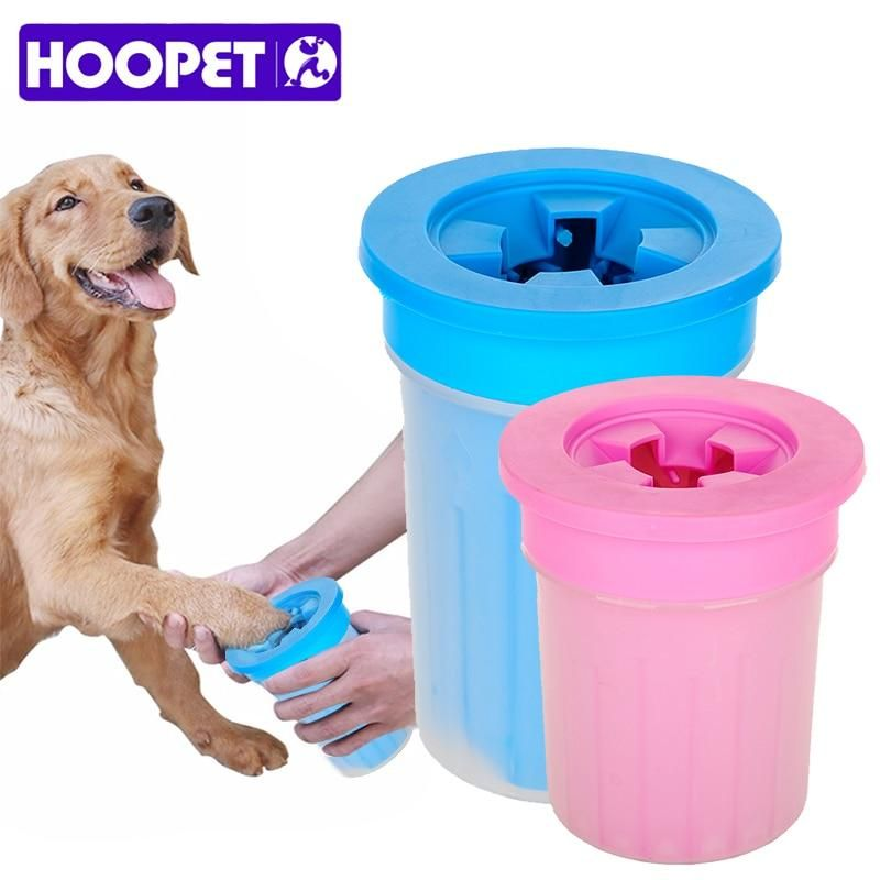 Hoopet Pet Cats Dogs Foot Clean Cup For Dogs Cats Cleaning Tool