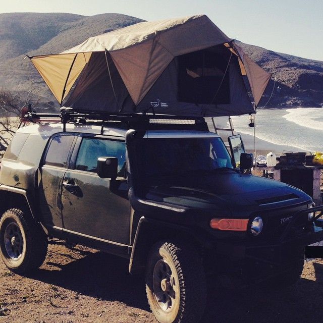 Front Runner Outfitters On Instagram Beautiful Frontrunner Outfitted Fjcruiser In Baja Mexico Fj Cruiser Adventure Gear Front Runner