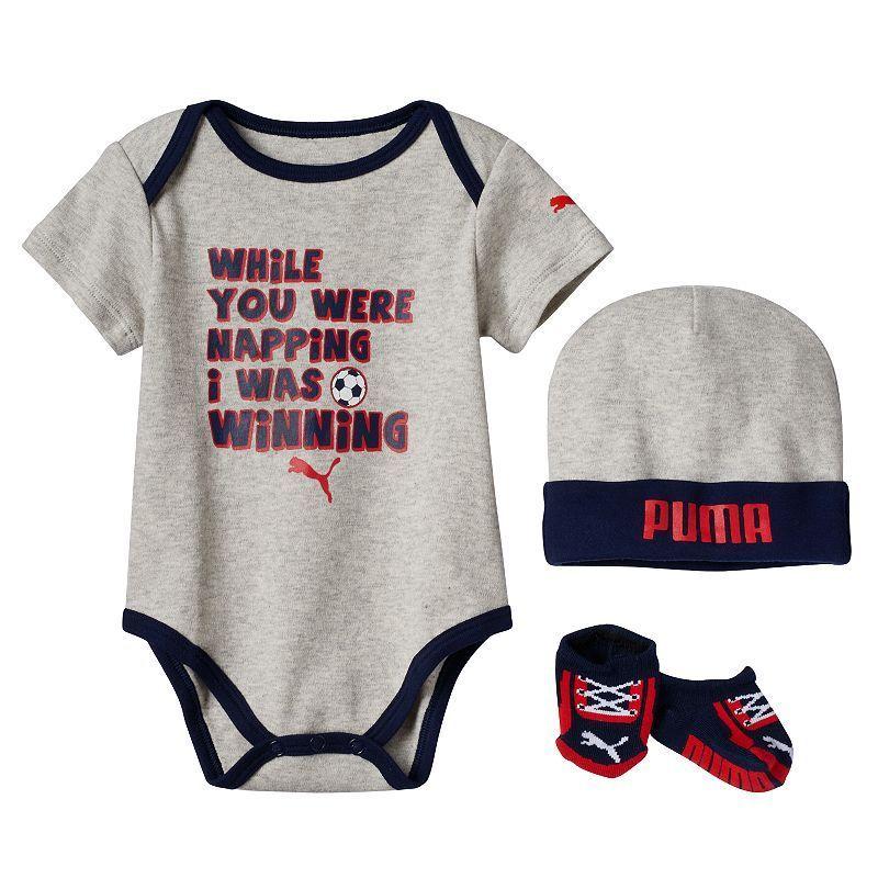 61830ab4d0ca Baby Boy PUMA Bodysuit