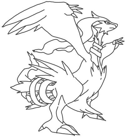 How To Draw Reshiram From Pokemon In Easy Steps Lesson For Kids Page 4 Of 4 How To Draw Step By Step Drawing Tutorials Pokemon Coloring Pages Pokemon Coloring Pokemon Drawings