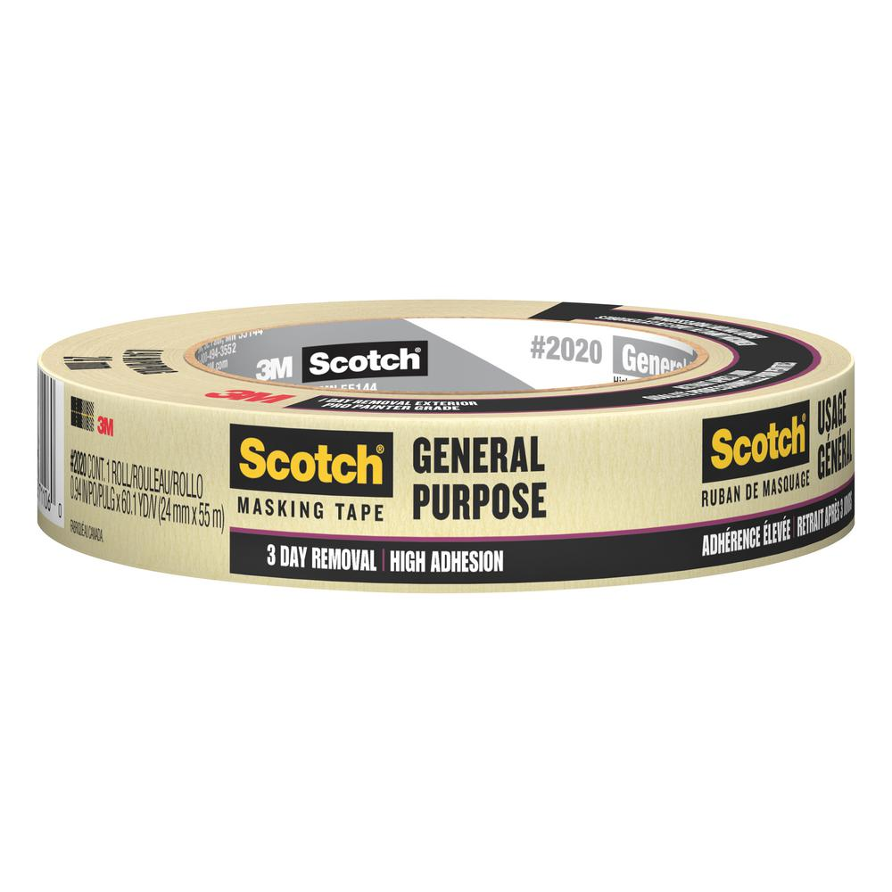 3m contractor grade masking tape