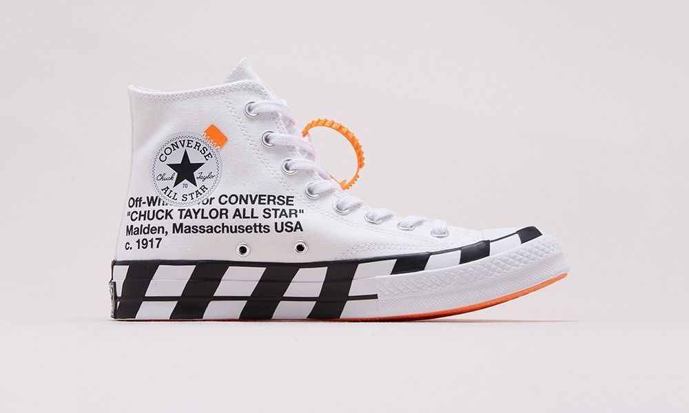 Off-White x Nike Converse Chuck Taylor 70 Stripe Virgil Abloh Size 8.5 US   fashion  clothing  shoes  accessories  mensshoes  athleticshoes (ebay link) ecfd011ed