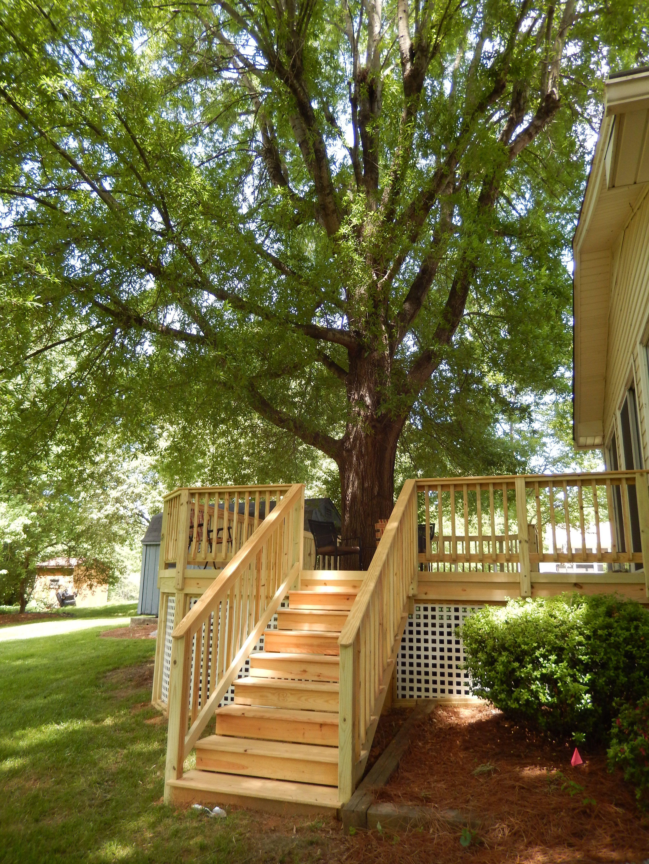 Best Backyard Deck On A Hill Backyard Deck On A Hill Custom 400 x 300