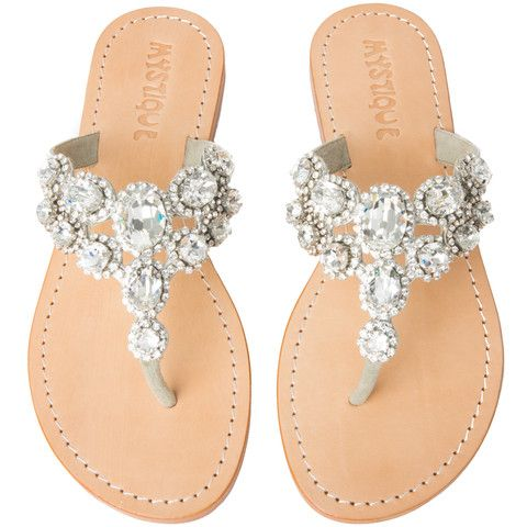 Positano   Bride shoes, Jeweled sandals, Wedding shoes