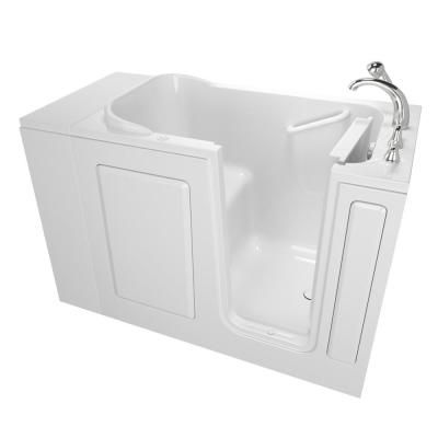 Safety Tubs Value Series 48 In Walk In Air Bath Bathub In White