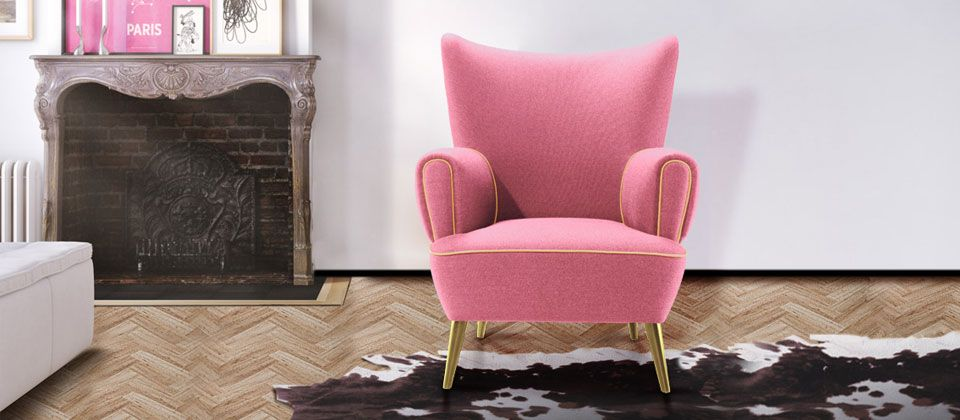 Garland Luxurious Armchair by | Armchairs, Garlands and Contemporary ...