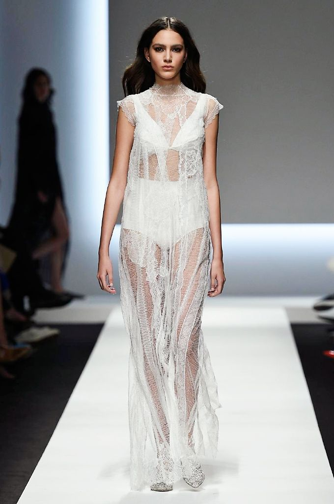 Ermanno Scervino spring/summer 2016 collection show pictures   Harper's Bazaar #fashion #fashionista #style #instyle