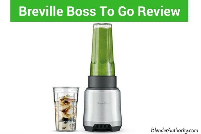 Breville Boss To Go Review Is Blender Blender Reviews Breville Blender Recipes