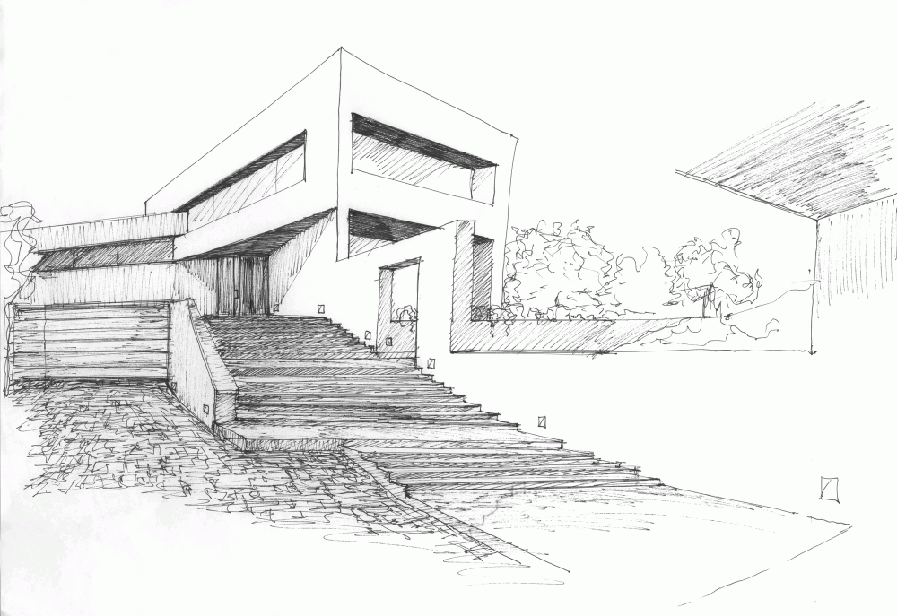 Gallery of housing in valdemorillo otto medem de la for Architettura case moderne idee