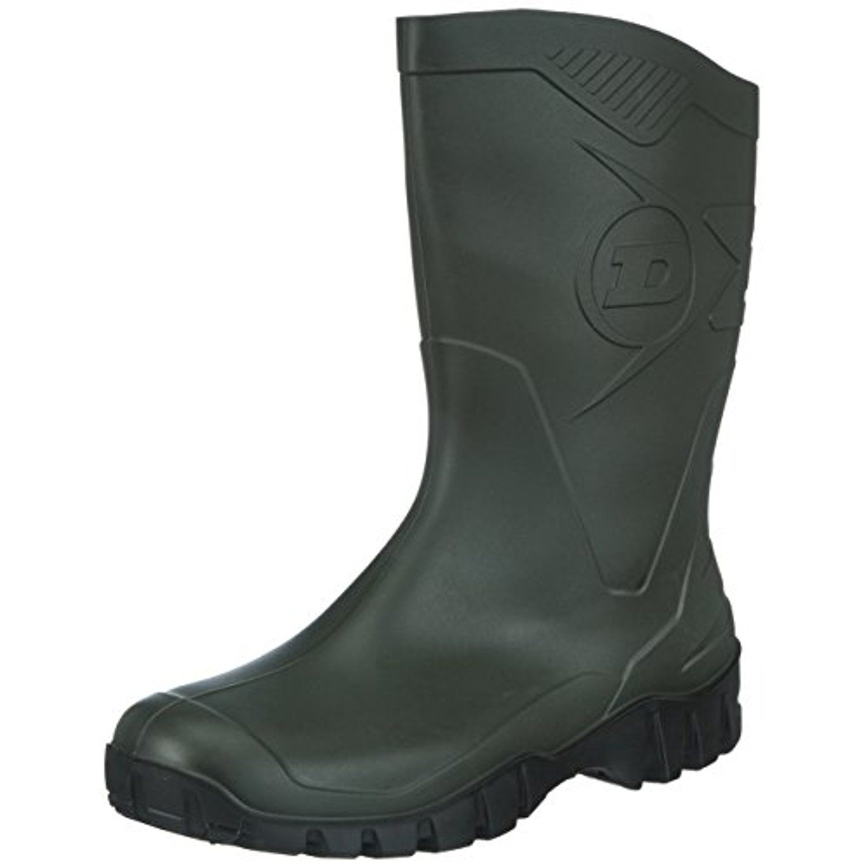 Unisex Dee K580211 PVC Wellington Boots / Mens Womens Rain Boots (9 US) (Green)