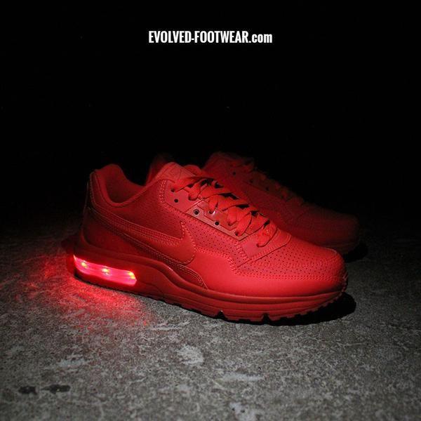 Nike Air Max Ltd Avec Des Lumières Rouges