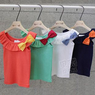 Aliexpress.com : Buy 2013 New Fashion Girls' Summer  T shirt  Kids Cute Tops Childrens' Clothes Apparel Korea Hot Style from Reliable Childrens' Clothes suppliers on beike's store