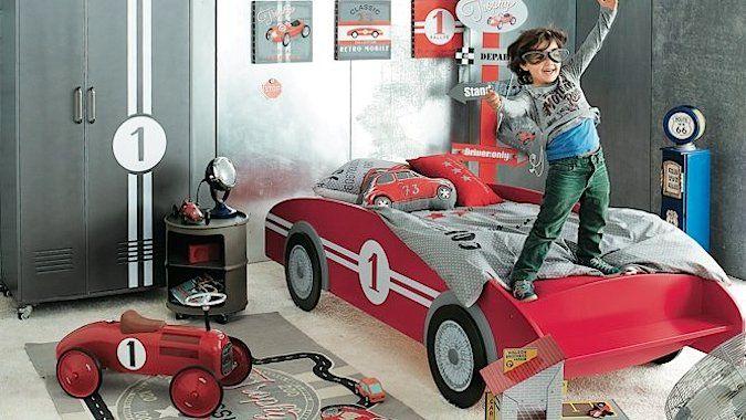 Chambre voiture pour garçon | Chambre voiture | Pinterest | Room
