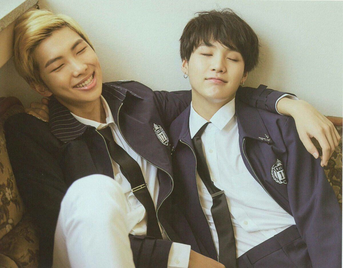 RM and Suga celebrate 10 years of friendship and coexistence