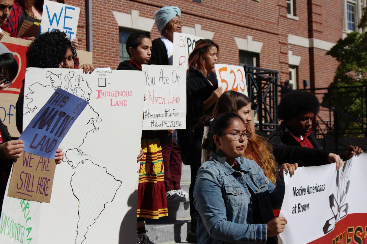 On Brown S Inaugural Indigenous People S Day Monday Native Americans At Brown Hosted A Celebration On Indigenous Peoples Day Indigenous Peoples College Years