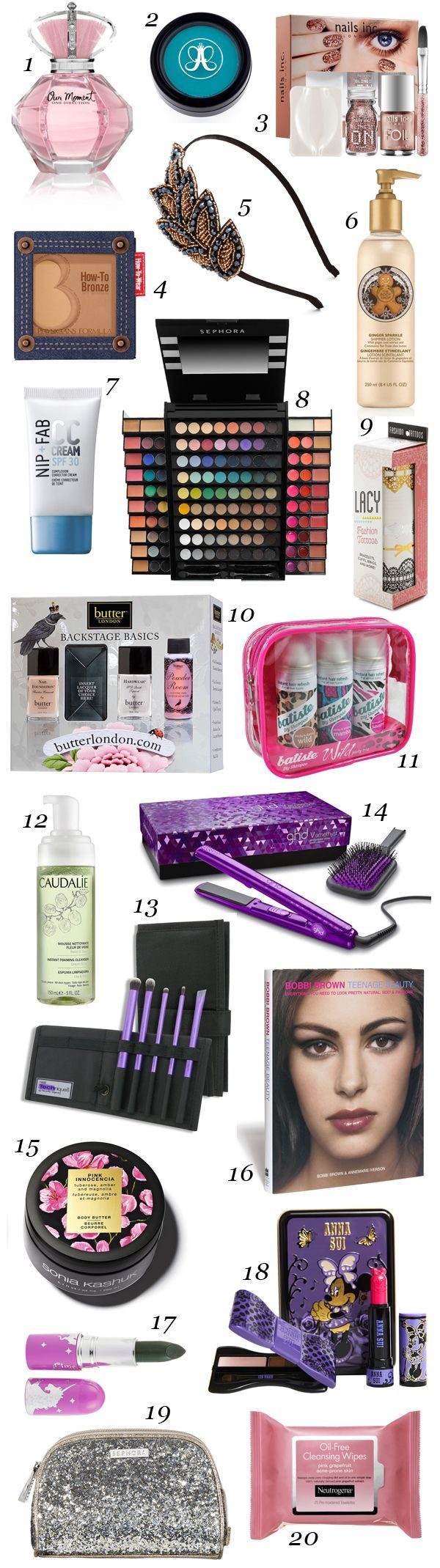 20 Beauty Gift Ideas For Teens And Tweens Birthday