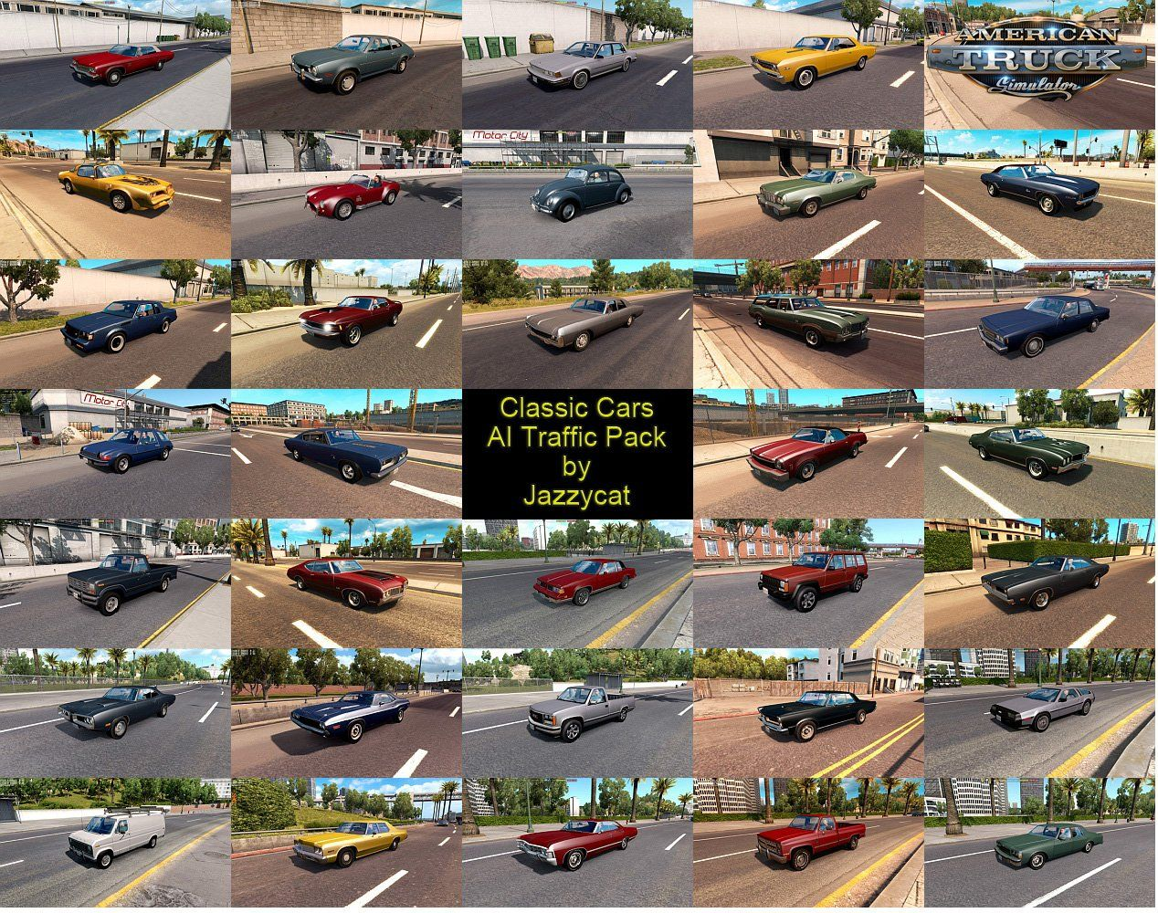 ETS2 - Motorcycle Traffic Pack By Jazzycat V3.0.2 (1.35.x