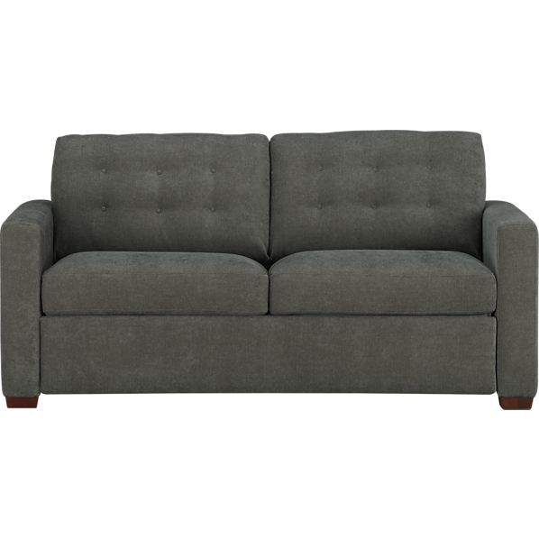 C Allerton Queen Sleeper In Charcoal 2999 Pricey But Great Quality Mattress Color Isn T Exciting But Sleeper Sofa Stylish Sofa Bed Queen Size Sleeper Sofa