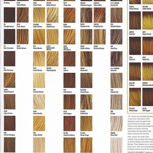 Ion Demi Permanent Hair Color Chart Hair Color Charts