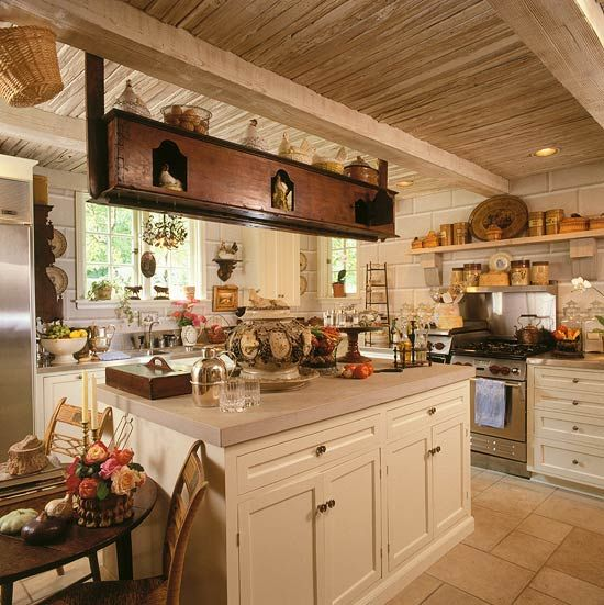Interior designer charles faudree french flair for French kitchen design