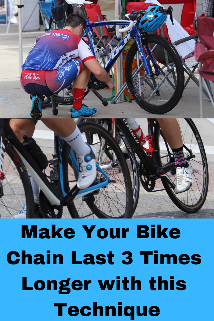 Make Your Bike Chain Last 3 Times Longer With This Technique