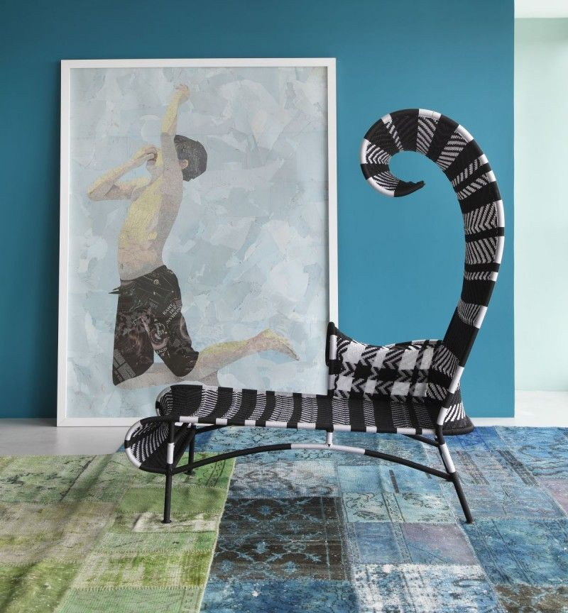 The Shadowy chaise lounge by Moroso
