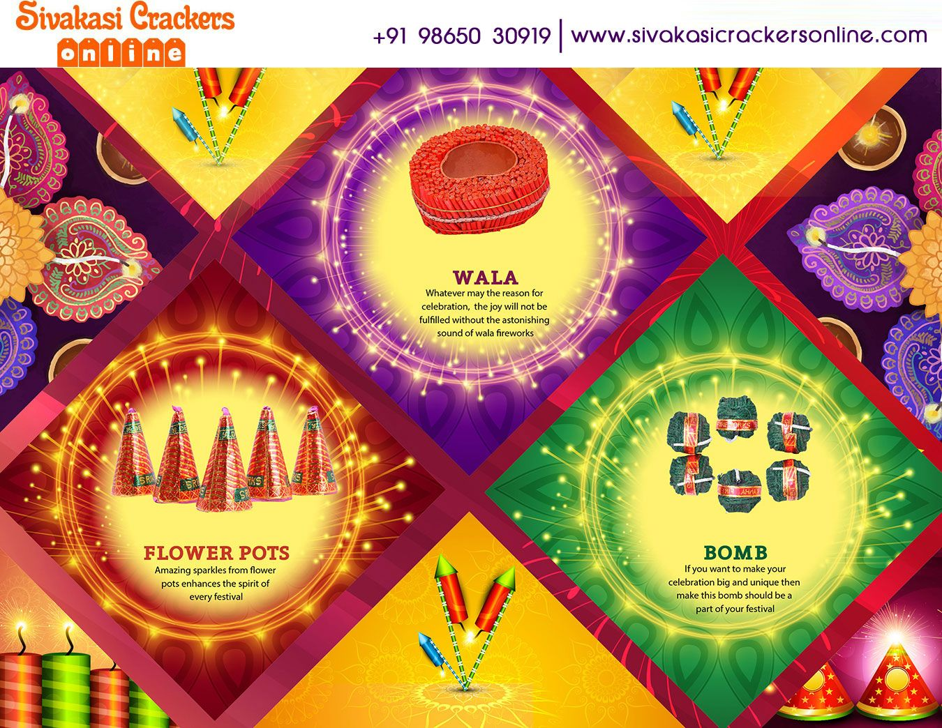 Sivakasi Crackers Online portal is the only place where