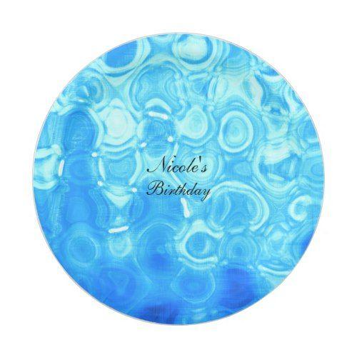Blue Vintage Retro Glamour Fashion Circle Art Paper Plate | Pool Birthday Party | Pinterest  sc 1 st  Pinterest & Blue Vintage Retro Glamour Fashion Circle Art Paper Plate | Pool ...