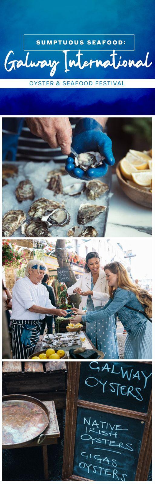 Galway tastes amazing! Oyster festival, Oysters, Irish