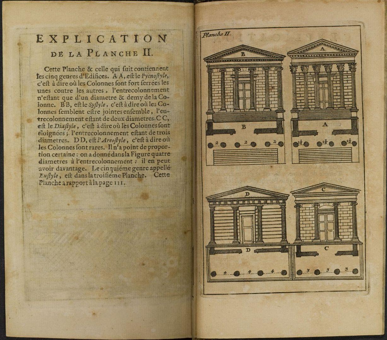 claude perrault abr g des dix livres d architecture de vitruve paris j b coignard 1674. Black Bedroom Furniture Sets. Home Design Ideas