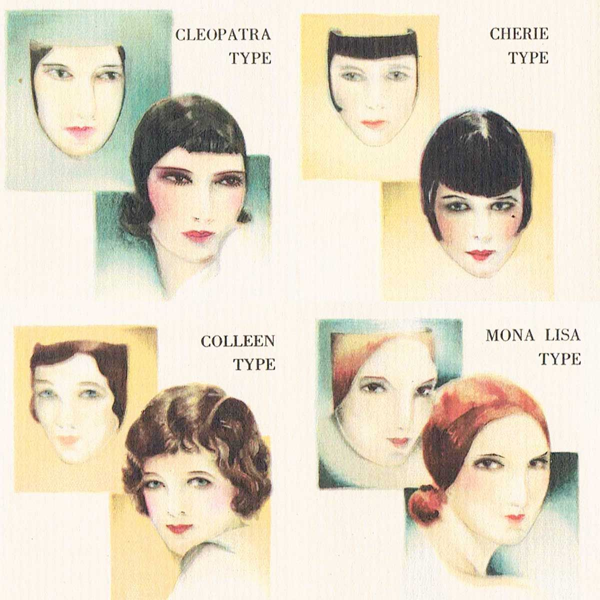1920s Makeup Booklet for all Flapper Types | Glamour Daze