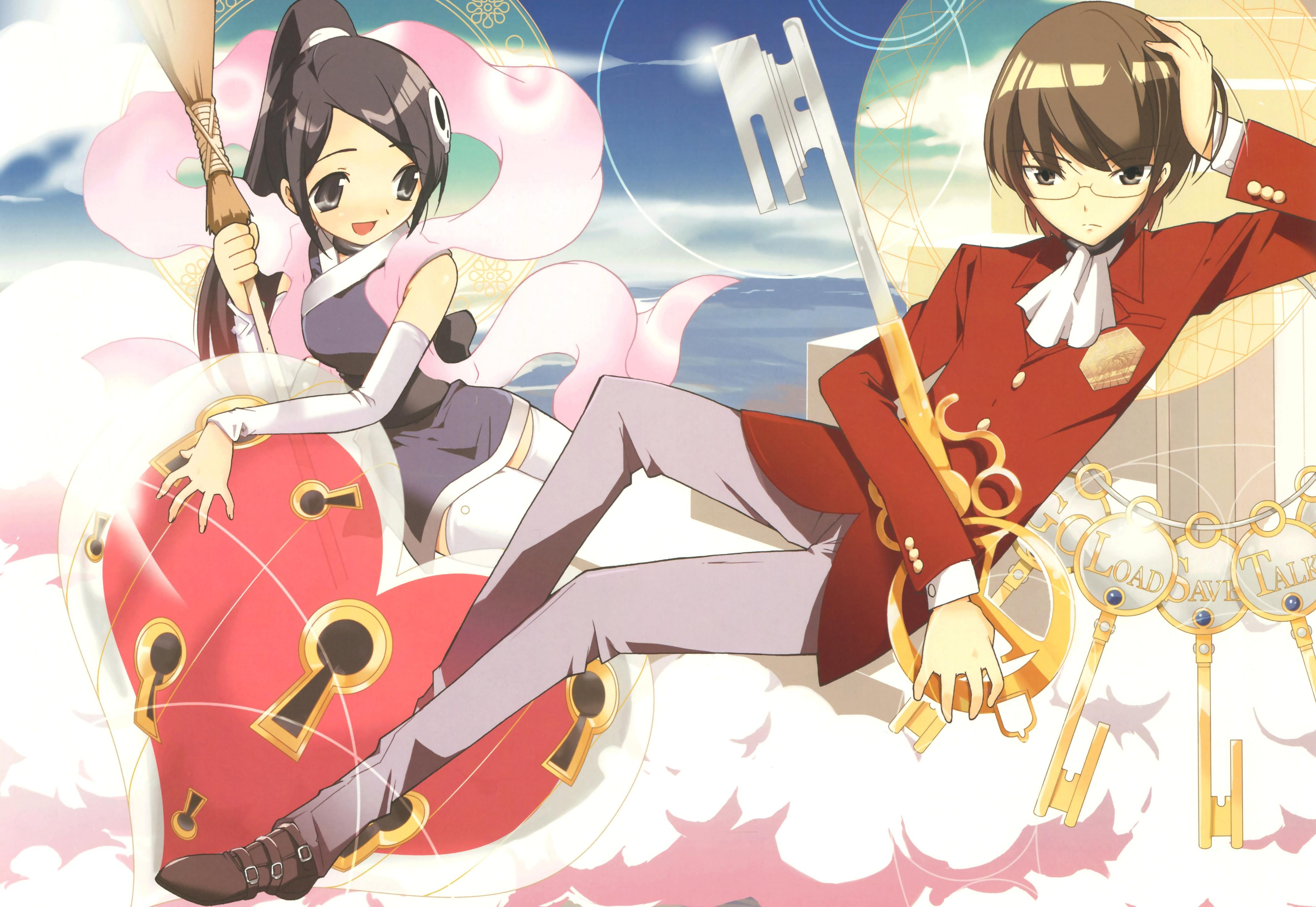 The World God Only Knows Vs the world, Kami, Anime
