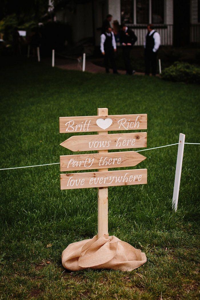 Wedding sign   fabmood.com