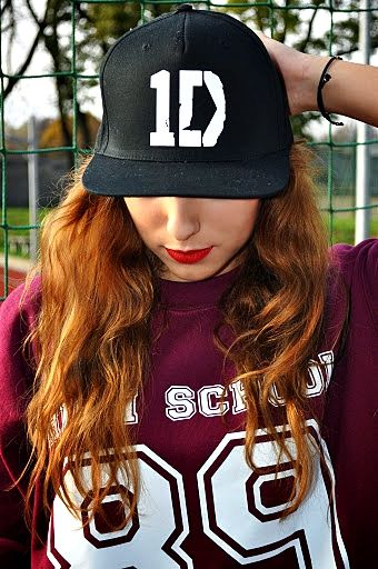 Snapback ONE DIRECTION logo 1D directioners SHOCK share ...  Louis