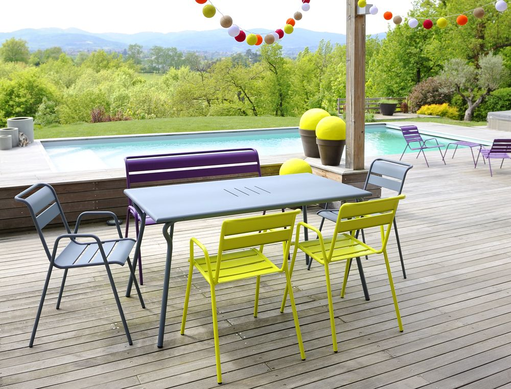 Awesome Salon De Jardin Style Fermob Contemporary - Amazing House ...