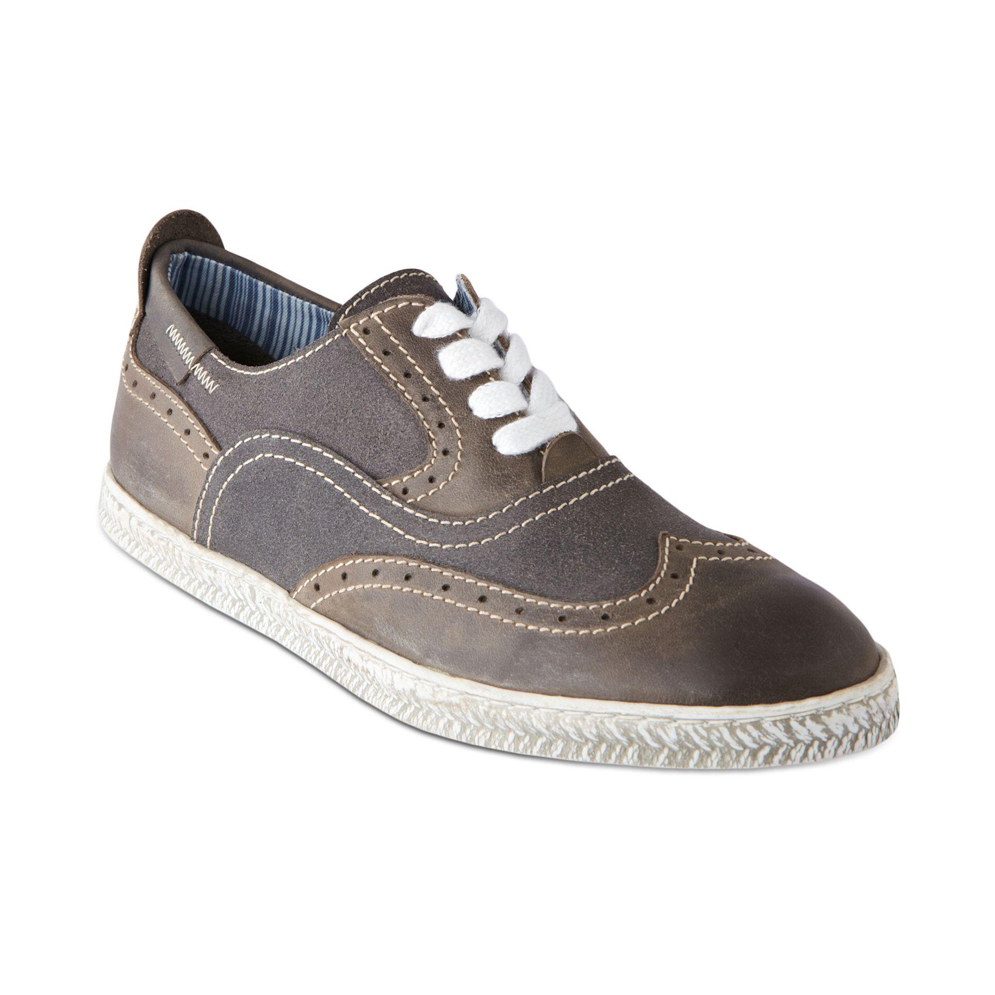 Steve Madden Henry Wingtip Sneakers in Gray for Men (grey) | Lyst