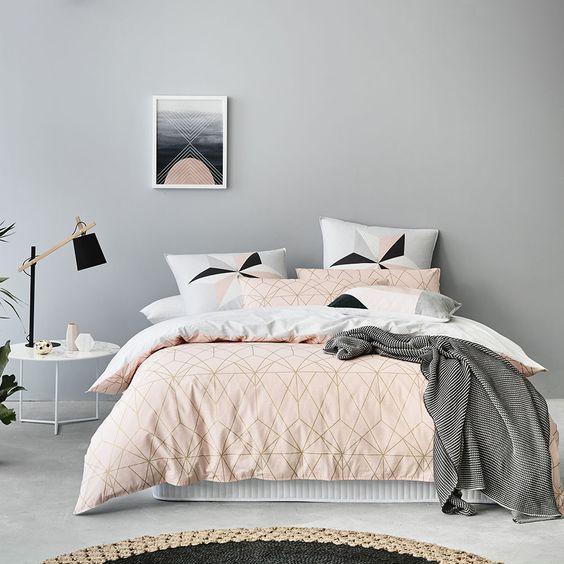 couleurs pastel pour la chambre coucher 20 id es pour. Black Bedroom Furniture Sets. Home Design Ideas