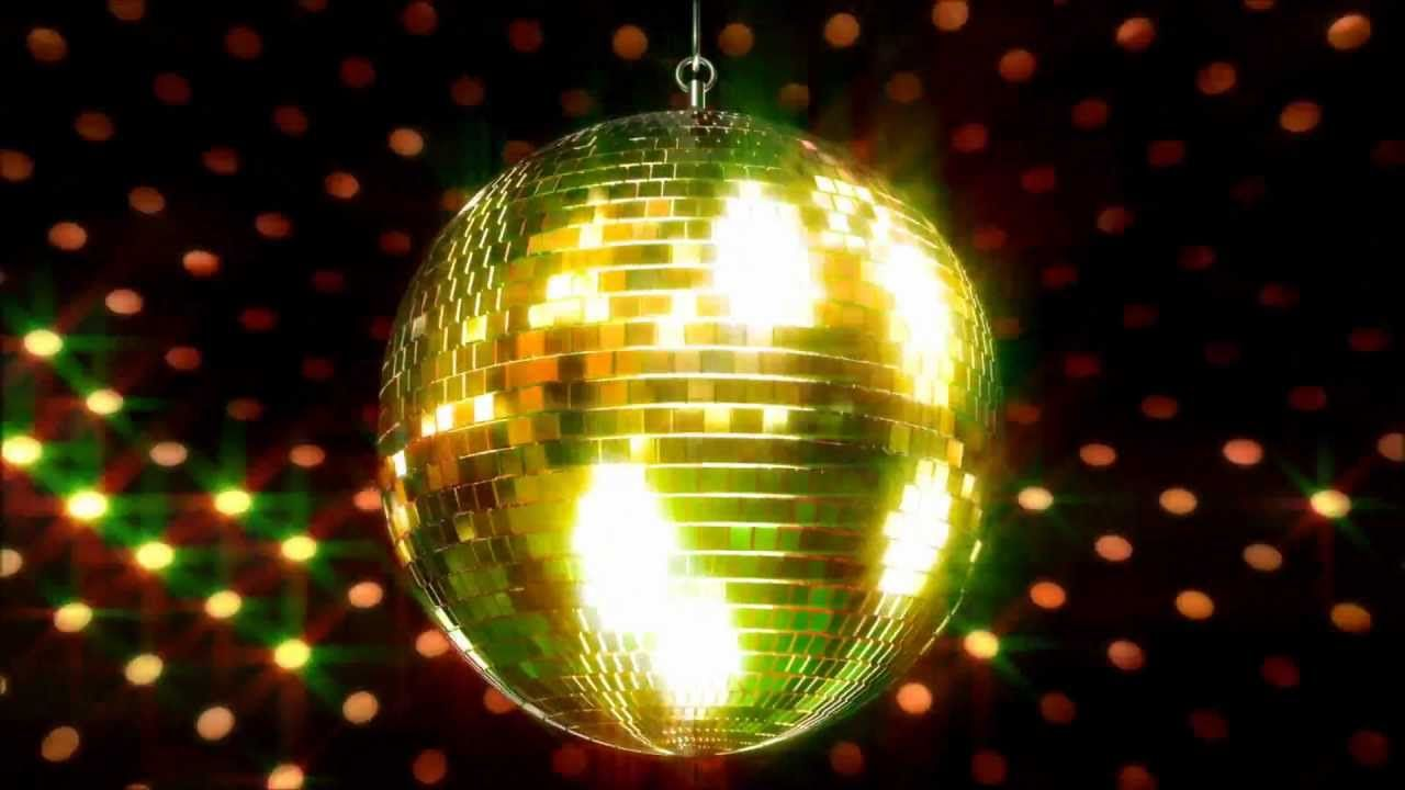 Disco Ball Spinning Background Video Free Donwload In