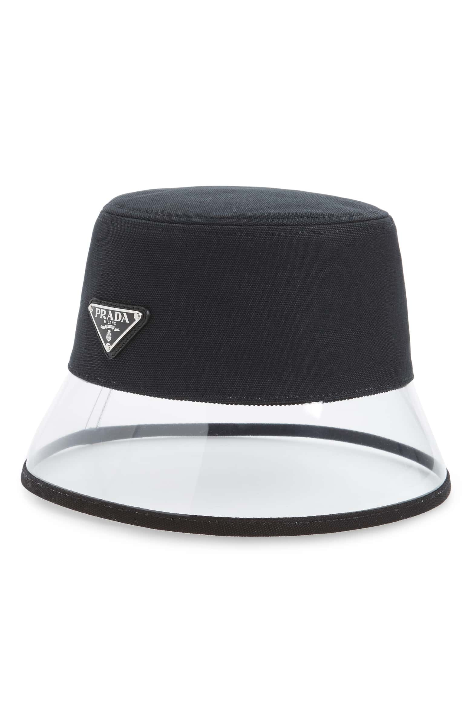 e70be139 Prada Clear Brim Bucket Hat | Nordstrom 340 | Fashion Passion in ...