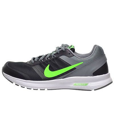 d4d6d644cba Nike Air Relentless 5 Mens 807092-007 Grey Green Athletic Running Shoes  Size 8.5